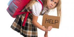 la mochila para la escuela