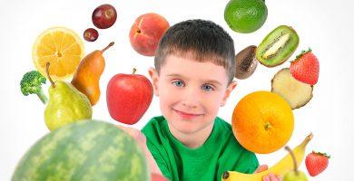 meriendas saludables para niños