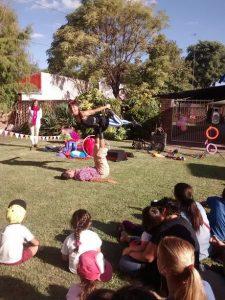 Circo en el jardín
