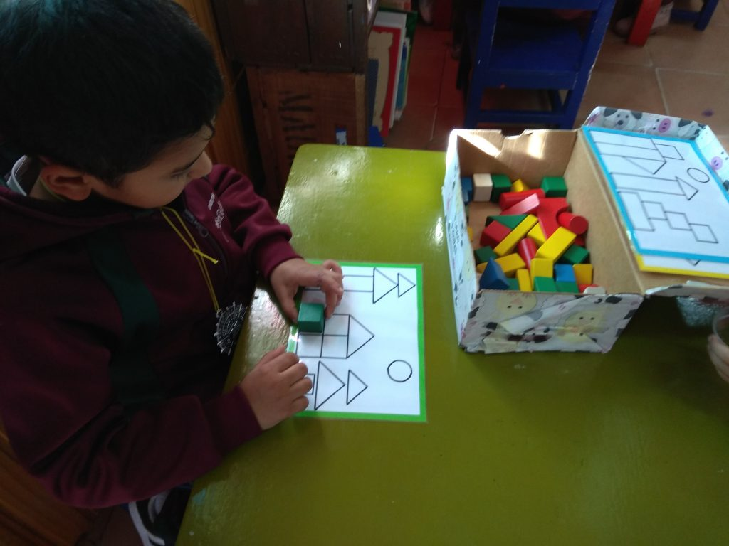 poligono en educacion infantil