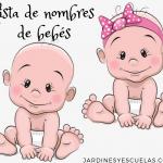 lista de nombres para bebes