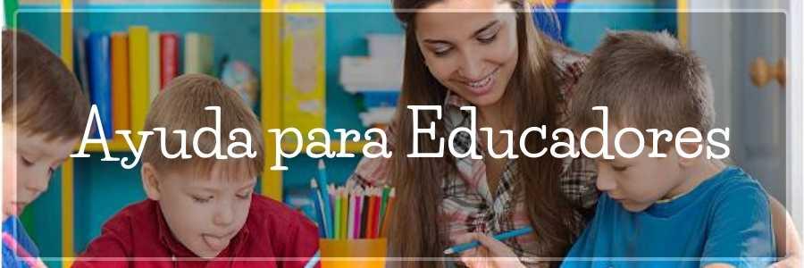 ayuda para educadores